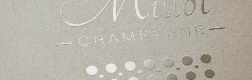 Création logo Millot Champagne